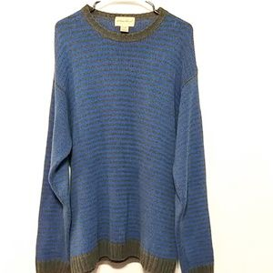 Eddie Bauer Over sized knit chunky sweater L (358)
